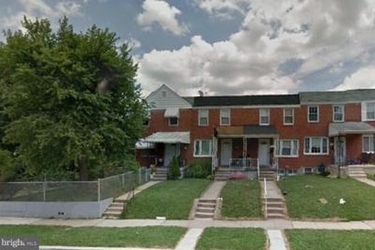 3 bed 1 bath Townhouse at 533 Larkfield Rd Baltimore, MD, 21222 is for sale at 120k - google static map