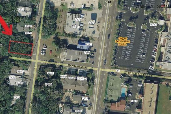null bed null bath Vacant Land at & 13 1st Ave Fernandina Beach, FL, 32034 is for sale at 325k - google static map