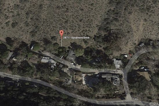 null bed null bath Vacant Land at 28711 Sycamore Dr Silverado Canyon, CA, 92676 is for sale at 69k - google static map