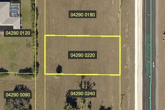null bed null bath Vacant Land at 1822 Burnt Store Rd N Cape Coral, FL, 33993 is for sale at 16k - google static map