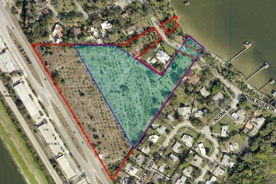 null bed null bath Vacant Land at 000 N Indian River Drive Blvd Cocoa, FL, 32922 is for sale at 600k - google static map
