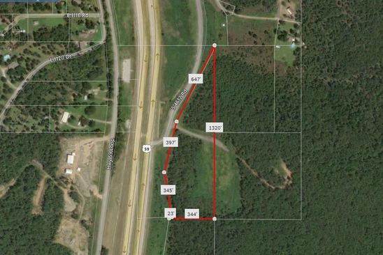 null bed null bath Vacant Land at 0 S Hwy 59 Sallisaw, OK, 74955 is for sale at 30k - google static map