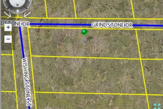 null bed null bath Vacant Land at  GRINDSTONE DR WEBSTER, FL, 33597 is for sale at 7k - google static map