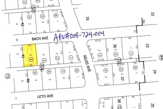 null bed null bath Vacant Land at 0 Bach Ave Salton City, CA, 92275 is for sale at 3k - google static map