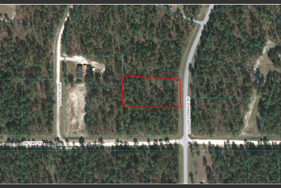 null bed null bath Vacant Land at  SW 129th Terrace Rd Ocala, FL, 34481 is for sale at 30k - google static map