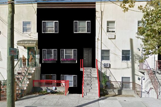 7 bed 4 bath Multi Family at 536 WYONA ST BROOKLYN, NY, 11207 is for sale at 875k - google static map