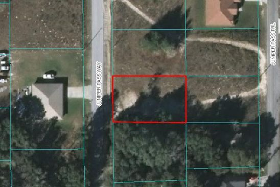 null bed null bath Vacant Land at 0 Juniper Pass Way Ocala, FL, 34480 is for sale at 9k - google static map