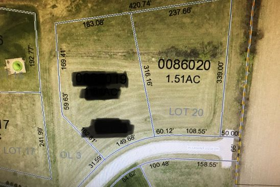 null bed null bath Vacant Land at  Pleasant View Dr Richfield, WI, 53076 is for sale at 117k - google static map