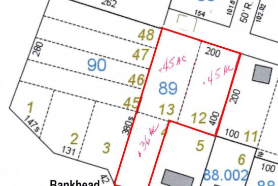 null bed null bath Vacant Land at  Bankhead Hwy Winfield, AL, 35594 is for sale at 45k - google static map
