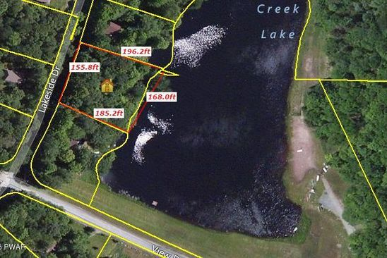 0 bed null bath Vacant Land at 1402 Lakeside Dr Greentown, PA, 18426 is for sale at 28k - google static map
