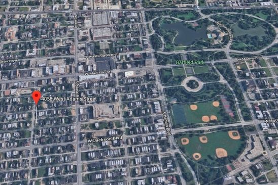 0 bed null bath Vacant Land at 4058 W Adams St Chicago, IL, 60624 is for sale at 7k - google static map