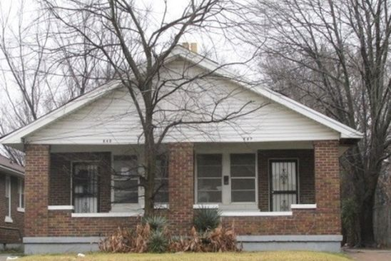 6 bed 3 bath Single Family at 840 Chelsea Ave Memphis, TN, 38107 is for sale at 60k - google static map