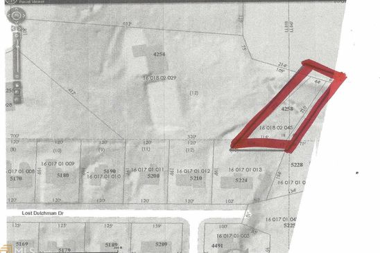 null bed null bath Vacant Land at 4258 SANDY LAKE DR LITHONIA, GA, 30038 is for sale at 18k - google static map