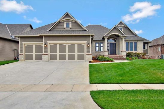 5 bed 3 bath Single Family at 4512 W Shoreline St Wichita, KS, 67205 is for sale at 738k - google static map