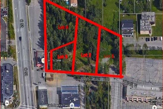 null bed null bath Vacant Land at 201 W 24th Pl Anchorage, AK, 99503 is for sale at 625k - google static map