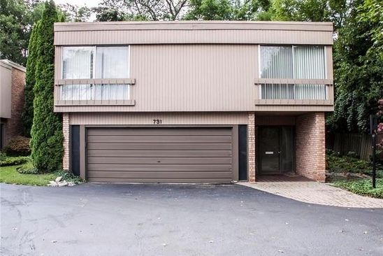2 bed 3 bath Condo at 737 MAPLE HILL LN BIRMINGHAM, MI, 48009 is for sale at 899k - google static map