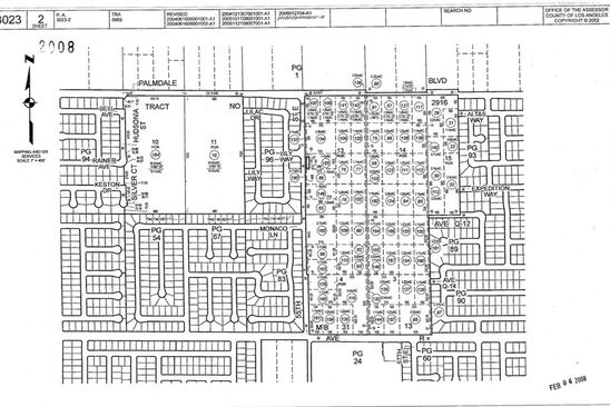 null bed null bath Vacant Land at 0 Vac/Vic Palmdale Blvd/55th Palmdale, CA, 93550 is for sale at 120k - google static map