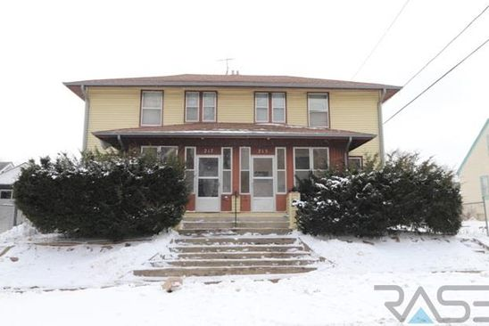 null bed 1.5 bath Multi Family at 215 217 E 15th St Sioux Falls, SD, 57104 is for sale at 140k - google static map