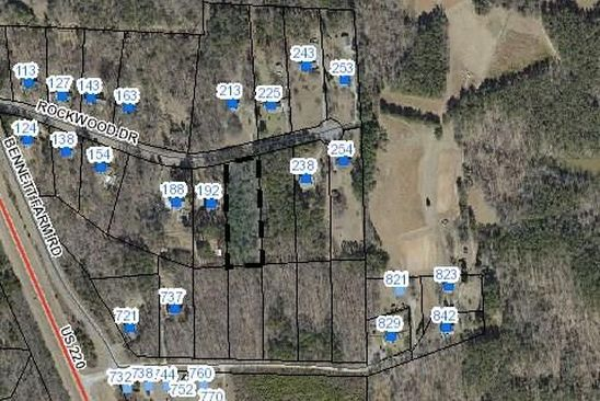 null bed null bath Vacant Land at 000 Rockwood Dr Stokesdale, NC, 27357 is for sale at 23k - google static map