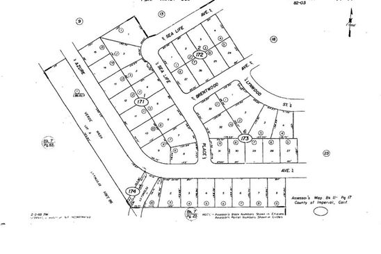 null bed null bath Vacant Land at 1361 AZURE AVE THERMAL, CA, 92274 is for sale at 3k - google static map