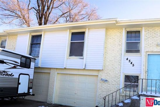 null bed null bath Multi Family at 4545/4547 N 63rd St Omaha, NE, 68104 is for sale at 172k - google static map