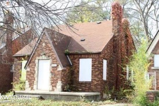 2 bed 1 bath Single Family at 9555 MEMORIAL ST DETROIT, MI, 48227 is for sale at 25k - google static map