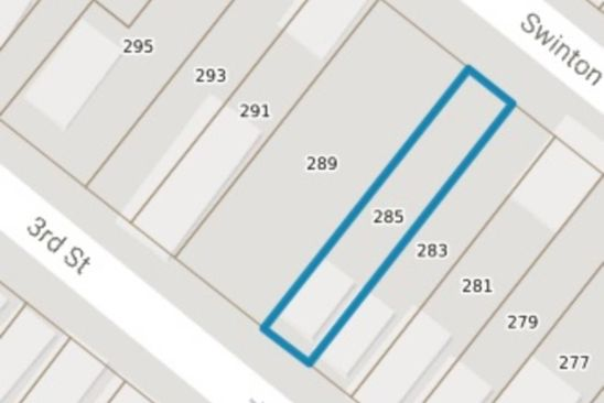 4 bed null bath Vacant Land at 285 3rd St Albany, NY, 12206 is for sale at 500 - google static map
