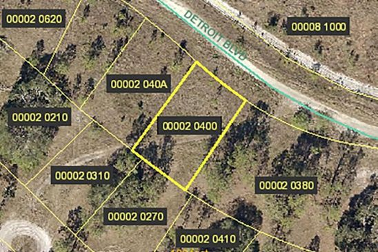 null bed null bath Vacant Land at 145 DETROIT BLVD ALVA, FL, 33920 is for sale at 4k - google static map