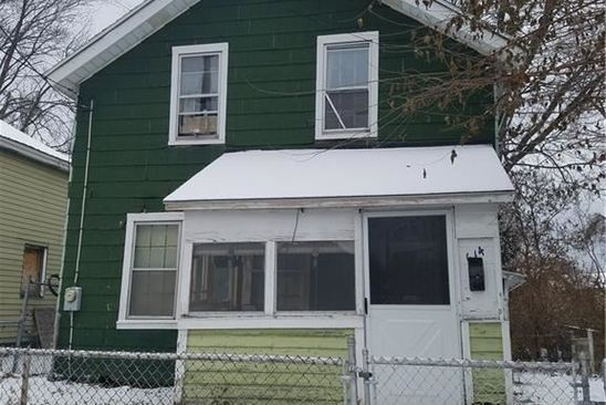 3 bed 1 bath Single Family at 614 HAWLEY AVE SYRACUSE, NY, 13203 is for sale at 25k - google static map
