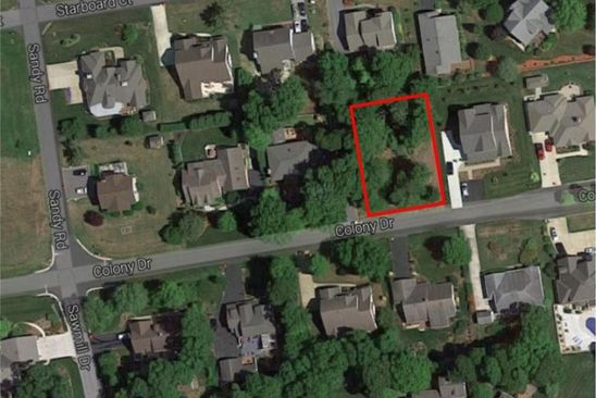 3 bed null bath Vacant Land at  Lot 36 Colony Dr Dagsboro, DE, 19939 is for sale at 95k - google static map