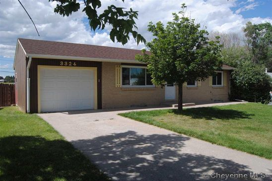 4 bed 2 bath Single Family at 3324 Belaire Ave Cheyenne, WY, 82001 is for sale at 215k - google static map