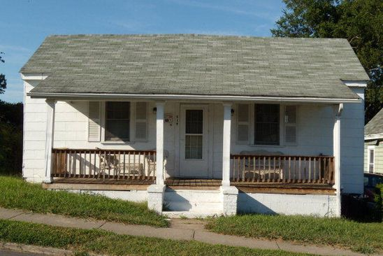 2 bed 1 bath Single Family at 519 CLIFF ST DANVILLE, VA, 24540 is for sale at 15k - google static map