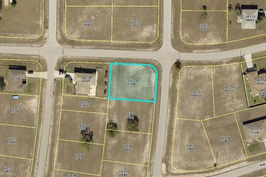 null bed null bath Vacant Land at 3010 NW 3RD PL CAPE CORAL, FL, 33993 is for sale at 12k - google static map
