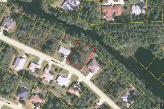 null bed null bath Vacant Land at 25 RICHMOND DR PALM COAST, FL, 32164 is for sale at 30k - google static map