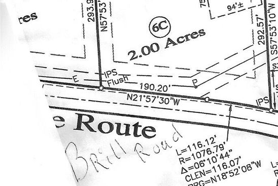 null bed null bath Vacant Land at 6C Brill Rd Scottsville, VA, 24590 is for sale at 30k - google static map