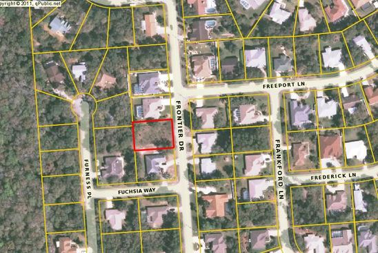 null bed null bath Vacant Land at 99 FRONTIER DR PALM COAST, FL, 32137 is for sale at 25k - google static map