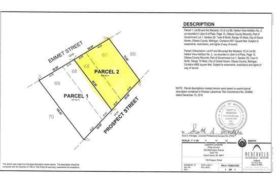 null bed null bath Vacant Land at  V/L Prospect St Grand Haven, MI, 49417 is for sale at 350k - google static map
