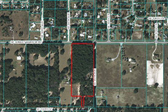 null bed null bath Vacant Land at 9450 SE SUNSET HARBOR RD SUMMERFIELD, FL, 34491 is for sale at 999k - google static map