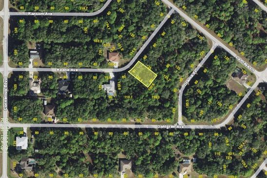 null bed null bath Vacant Land at 15077 Keene Ave Port Charlotte, FL, 33953 is for sale at 7k - google static map