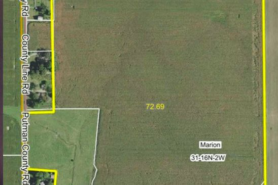 null bed null bath Vacant Land at  Putnam County Line Rd North Salem, IN, 46165 is for sale at 600k - google static map