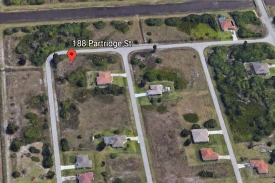null bed null bath Vacant Land at 188 Partridge St Lehigh Acres, FL, 33974 is for sale at 6k - google static map