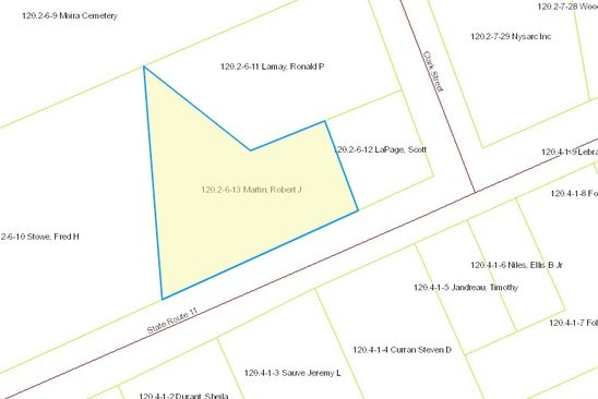 null bed null bath Vacant Land at SR 11 Moira, NY, 12957 is for sale at 5k - google static map