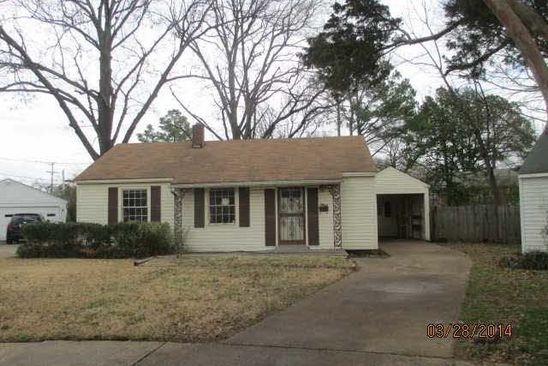 3 bed 1 bath Single Family at 3932 PLEASANT CV MEMPHIS, TN, 38122 is for sale at 70k - google static map