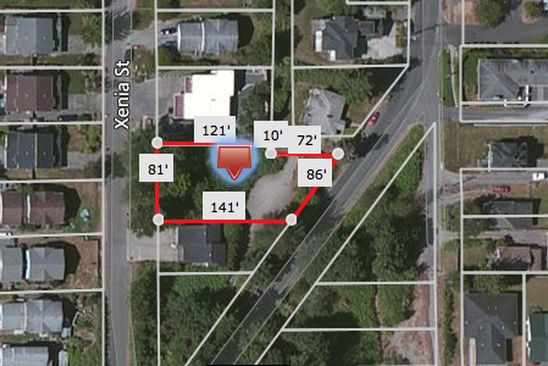 null bed null bath Vacant Land at 2122 XENIA ST BELLINGHAM, WA, 98229 is for sale at 170k - google static map
