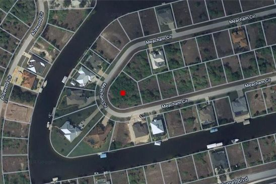 null bed null bath Vacant Land at 15571 Meacham Cir Port Charlotte, FL, 33981 is for sale at 40k - google static map