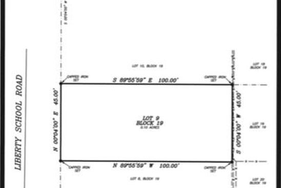 null bed null bath Vacant Land at 14400 Liberty School Rd Azle, TX, 76020 is for sale at 14k - google static map
