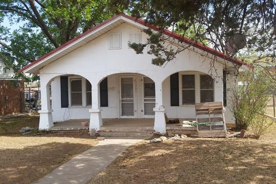 3 bed 1 bath Single Family at 1906 15TH ST SNYDER, TX, 79549 is for sale at 38k - google static map