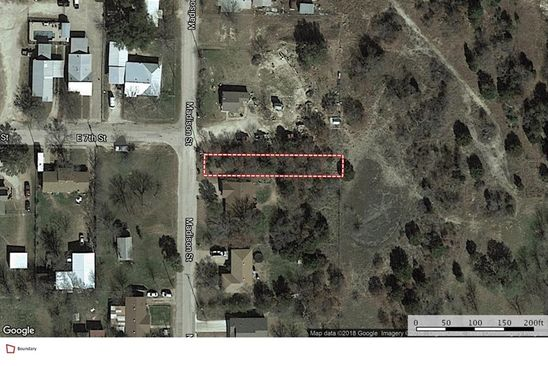 null bed null bath Vacant Land at 1514 Madison St Weatherford, TX, 76086 is for sale at 4k - google static map