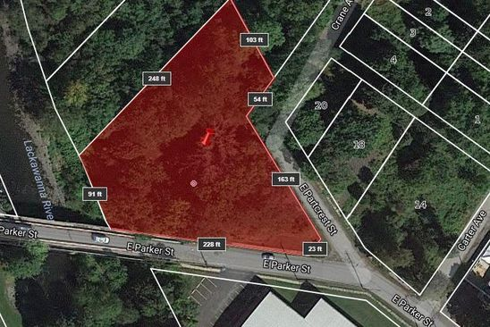 4 bed null bath Vacant Land at E Parker St Scranton, PA, 18509 is for sale at 100k - google static map