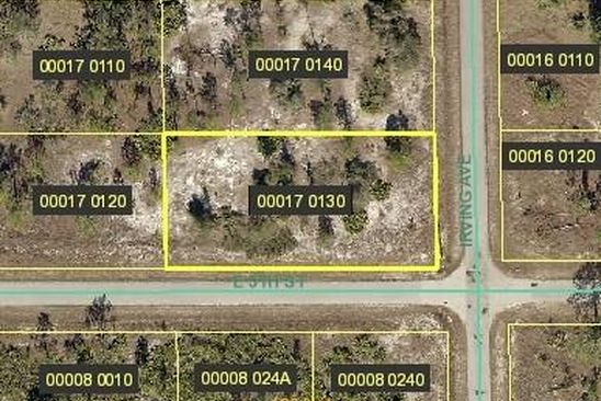 null bed null bath Vacant Land at 501 IRVING AVE LEHIGH ACRES, FL, 33972 is for sale at 7k - google static map
